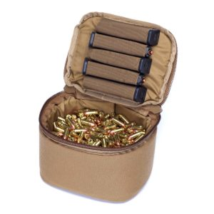 Ammo Transport Bag Coyote Brown 9mm Capacity