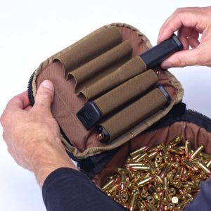 Ammo Transport Bag Olive Drab 9mm Magazines