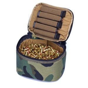 Ammo Transport Bag Woodland Camo 9mm Capacity