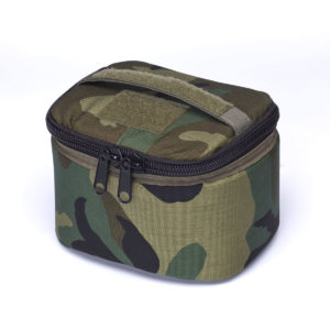 Ammo Transport Bag Woodland Camo Angle