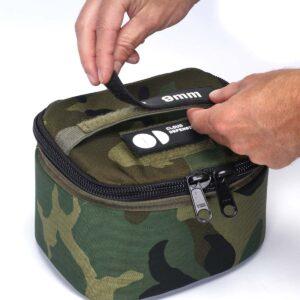 Ammo Transport Bag Woodland Camo Velcro