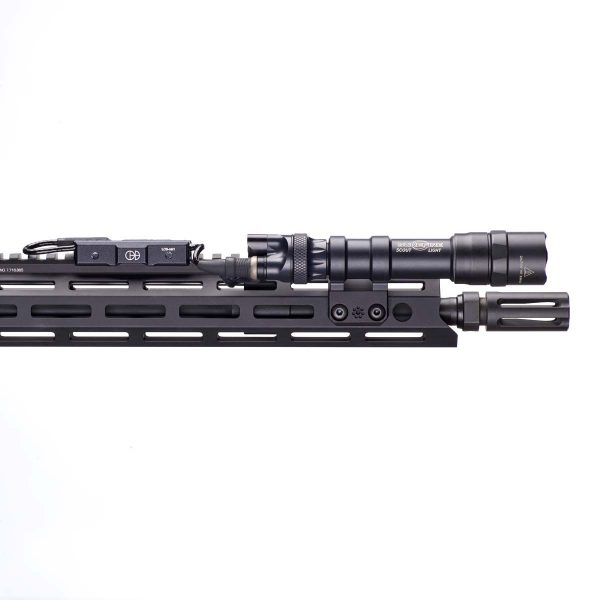 LCS Surefire Picatinny Black Rail Mounted