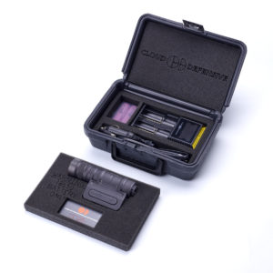 Optimized Weapon Light Product Case Open