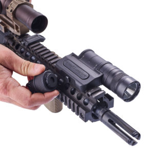 Optimized Weapon Light Integrated Tailcap Tool