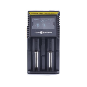 Cloud Defensive Nitecore D2 Battery Charger Front Angle